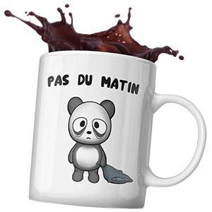 Mug original de panda