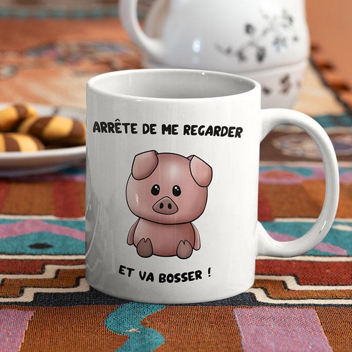 Un cochon mignon kawaii