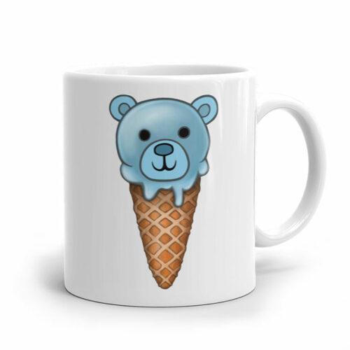 Un ourson mignon sur notre mug