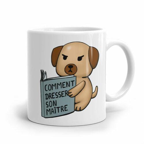 Un mug original avec un chien drôle comme cadeau original