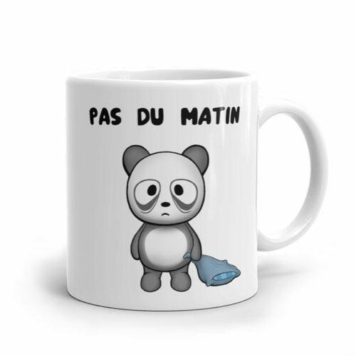 Un panda fatigué dans la collection de mugs originaux ymmymug
