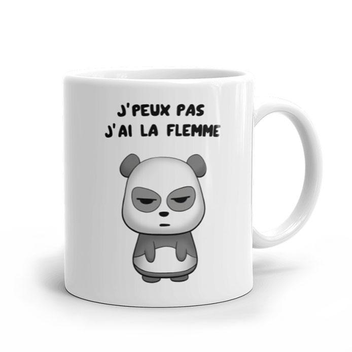Un panda qui a la flemme